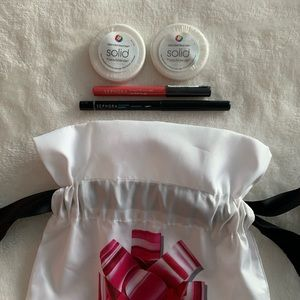 Sephora makeup bag bundle (bb cleanser&eyeliners)